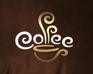 国外咖啡厅创意标志