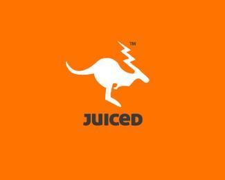 袋鼠果汁标志