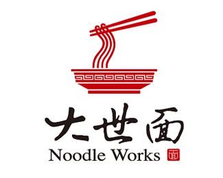 大世面餐饮连锁标志设计