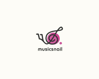 音乐蜗牛LOGO欣赏