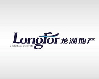 龙湖地产标志设计