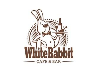 白兔酒吧标志