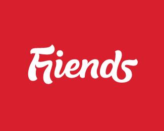 字体设计Friends